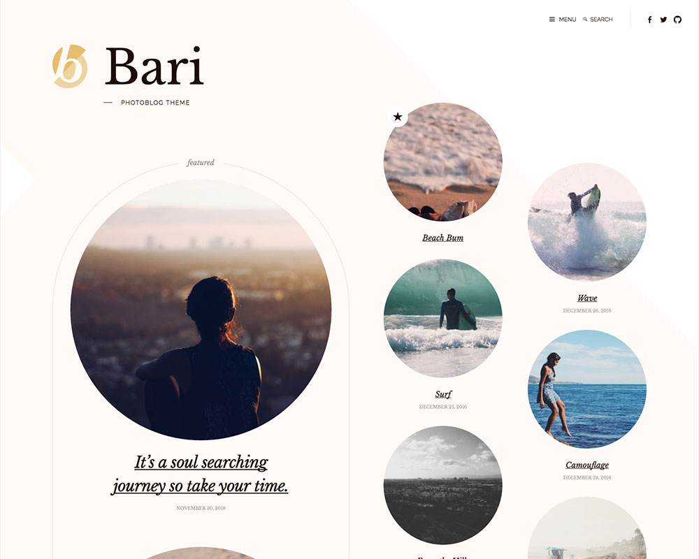 Bari desktop screenshot