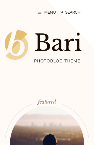 Bari mobile screenshot